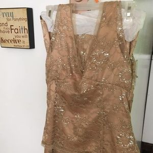 Gorgeous The Limited Lacy Skirt Set Size 4 (S) EUC
